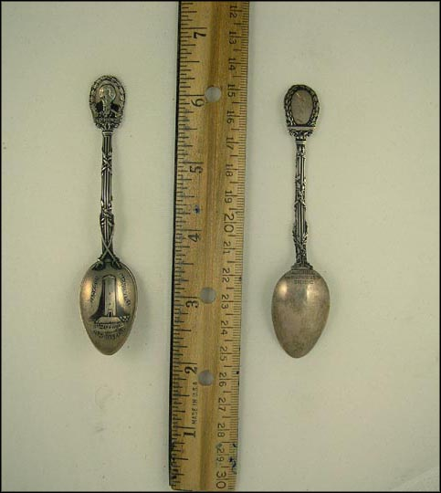 Jackson Monument Battlefield, Old Hickory, New Orleans, Louisiana Souvenir Spoon