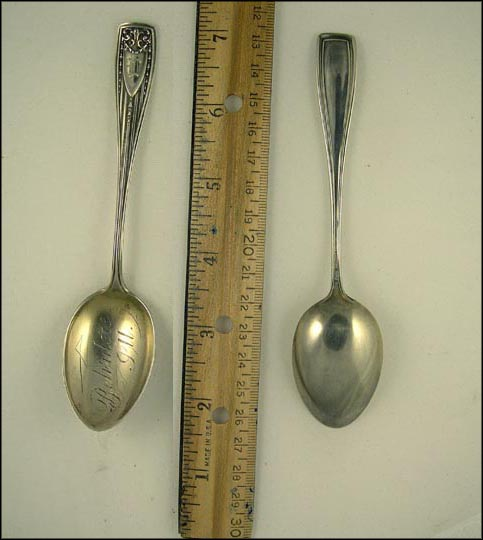 Belvidere, Illinois Souvenir Spoon