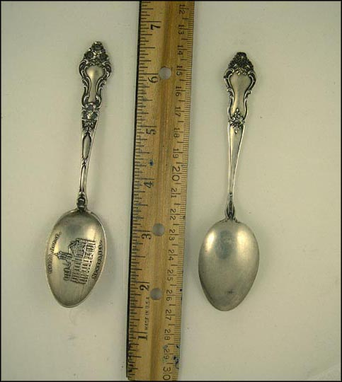 Court House, Newton, Illinois Souvenir Spoon