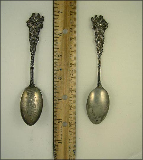 Chicago, Illinois Souvenir Spoon
