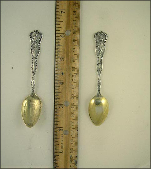 Columbian Exposition, Woman's Building Souvenir Spoon
