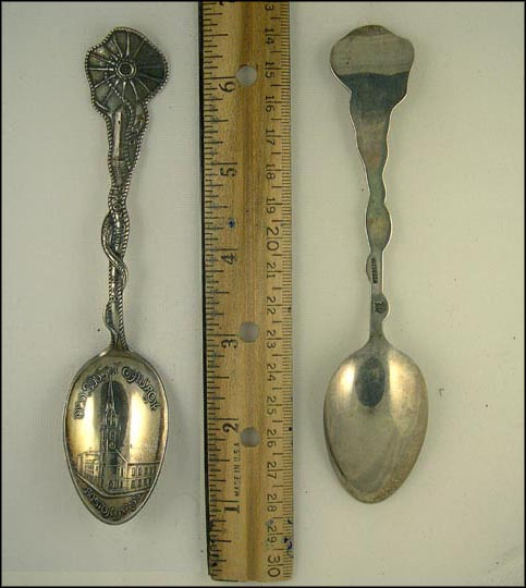 Old South Church, 1775 From the Hub, Boston, Massachusetts Souvenir Spoon