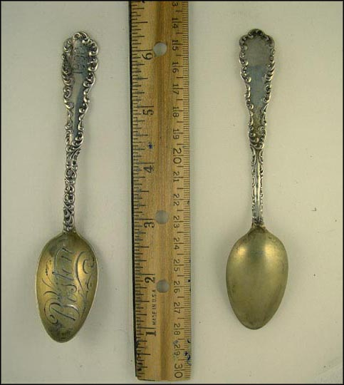 Boston, Massachusetts Souvenir Spoon