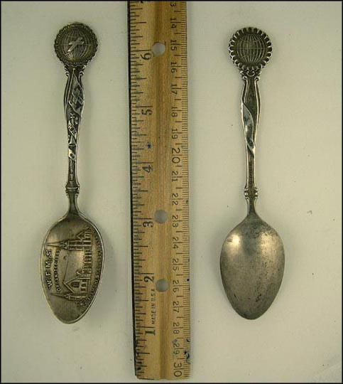 W.F.M.S. Organized 1869 Tremont St. Church... Souvenir Spoon