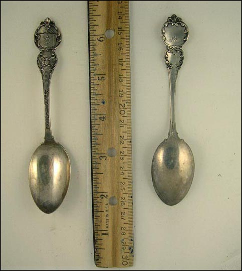 Massachusetts State Seal Souvenir Spoon