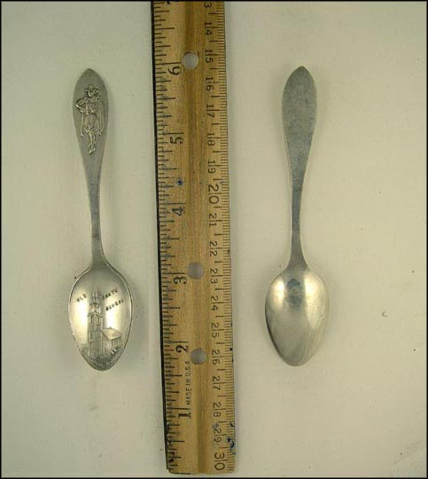 Minute Man, Old South Church, Boston, Massachusetts Souvenir Spoon