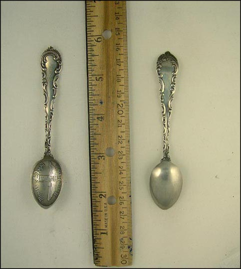 Minots Light, Boston Harbor, Boston, Massachusetts Souvenir Spoon