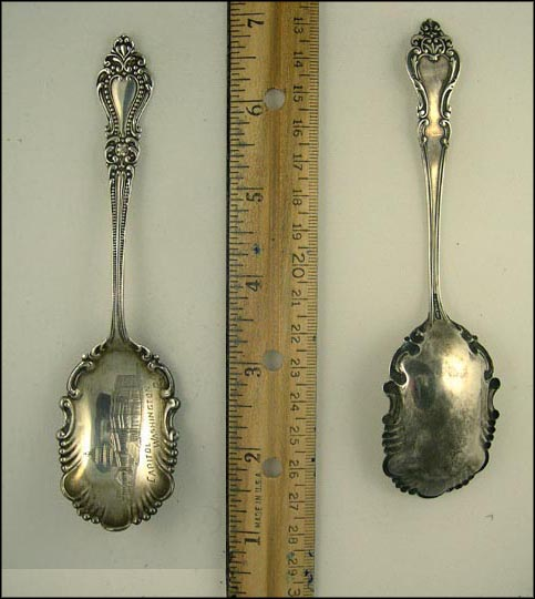 Capitol, Washington, District of Columbia Souvenir Spoon