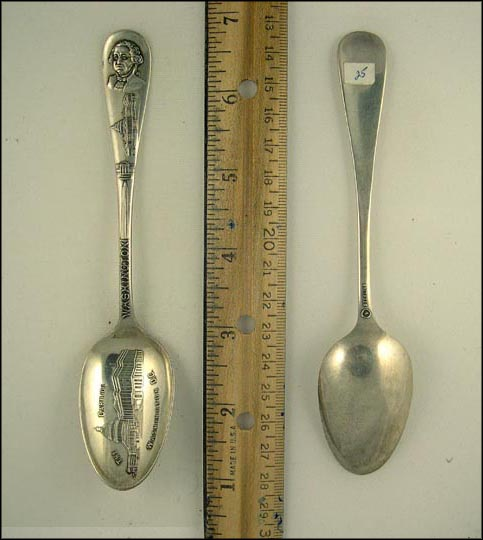 The Capitol, Washington, Washington, District of Columbia Souvenir Spoon