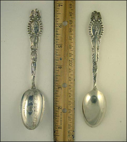 Capitol, George Washington, Mt. Vernon, Tomb, Washington, District of Columbia Souvenir Spoon