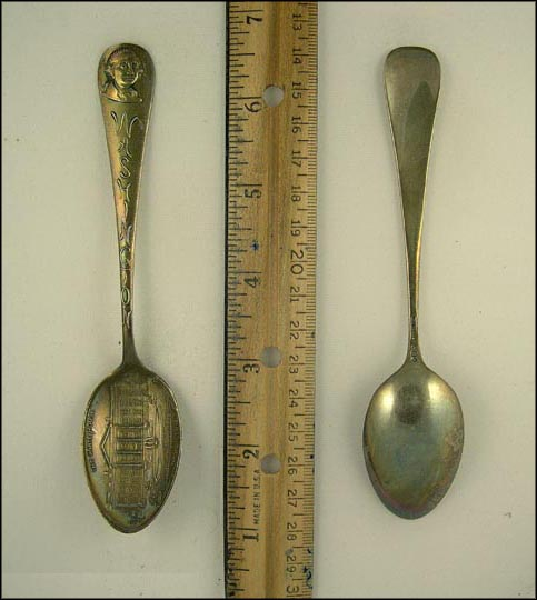 The White House, Washington, Washington, District of Columbia Souvenir Spoon