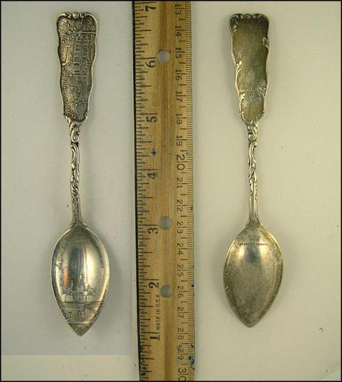 National Lincoln Monument, Lincoln's Home, Washington, District of Columbia Souvenir Spoon