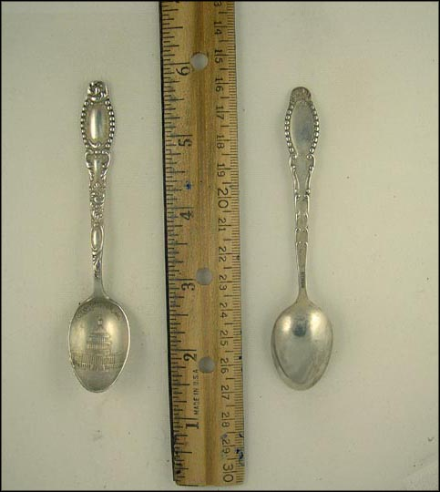 The Capitol, Washington, District of Columbia Souvenir Spoon