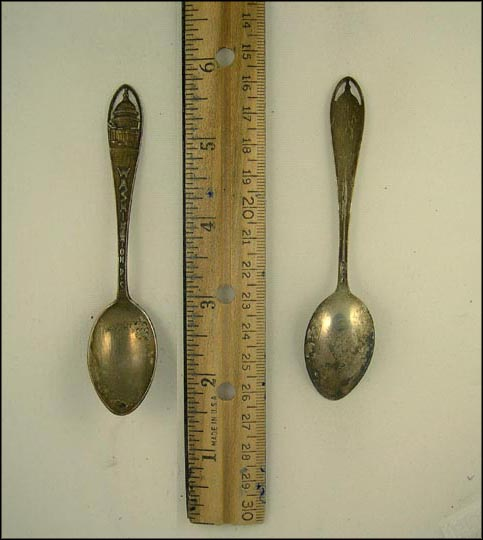 Cut Out of The Capitol, Washington, District of Columbia Souvenir Spoon