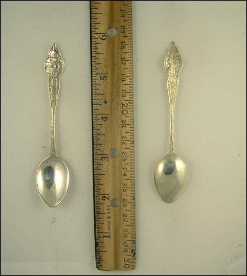 The Capitol, The White House, Washington Mansion... Souvenir Spoon