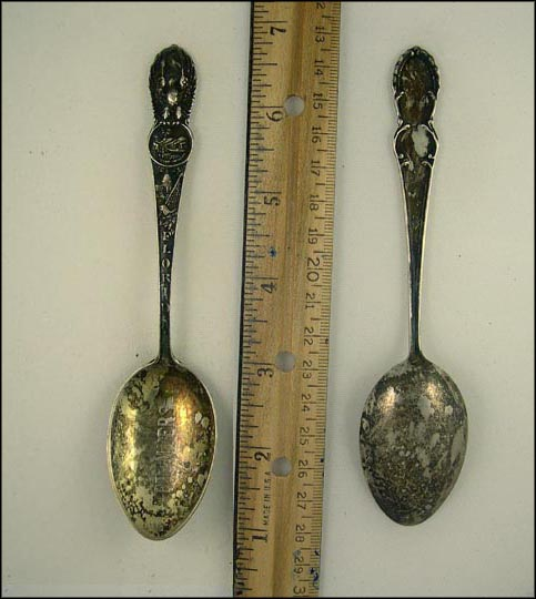 State Seal, Fort Myers, Florida Souvenir Spoon
