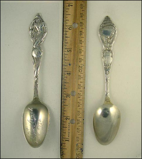 Native American, Corn, Palm Beach, Florida Souvenir Spoon