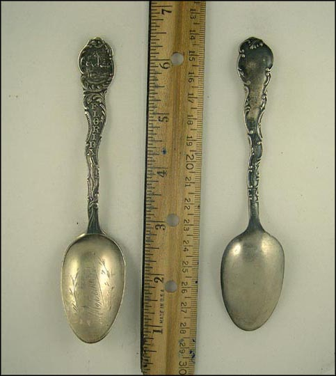 State Seal, Miami, Florida Souvenir Spoon
