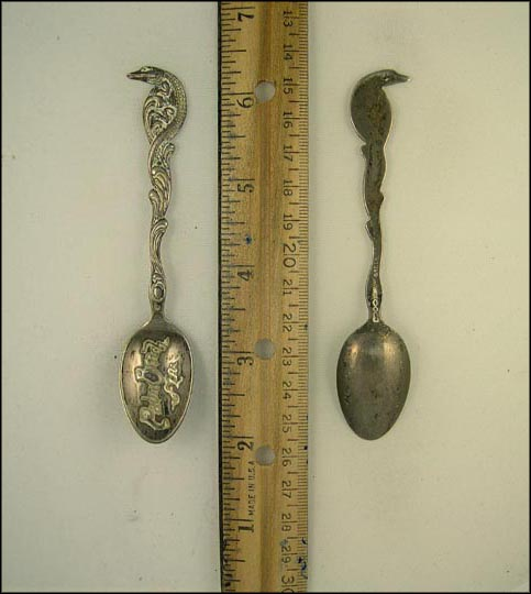 Crocodile Handle, Palm Beach, Florida Souvenir Spoon