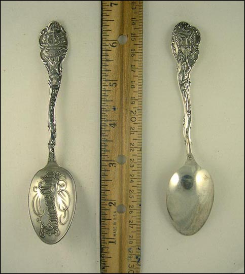 State Seal, Kansas City, Missouri Souvenir Spoon