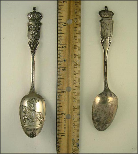 Saint Louis on Horse, St. Louis, Missouri Souvenir Spoon