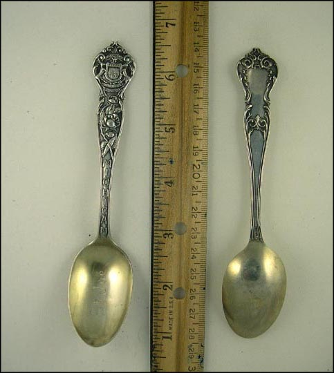 Michigan State Seal Souvenir Spoon