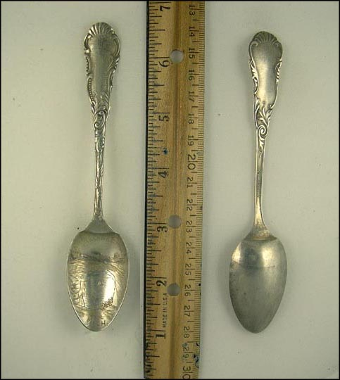 Arch Rock, Mackinac Island, Michigan Souvenir Spoon MAIN