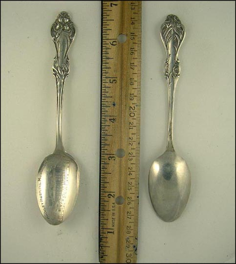 Hackley Hospital, Muskegon, Michigan Souvenir Spoon