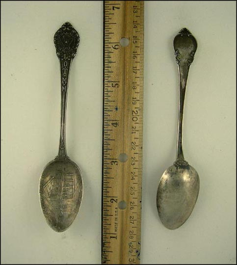 Mother Ward Home March 24th 1886 Souvenir Spoon