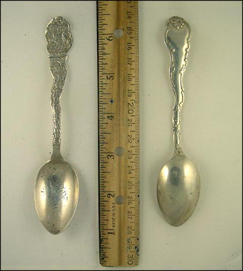 State Seal, Ann Arbor, Michigan Souvenir Spoon
