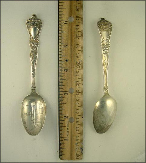 City Hall, Detroit, Michigan Souvenir Spoon