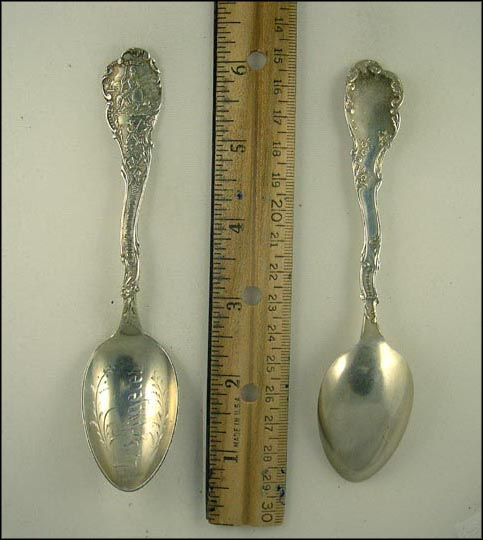 State Seal, Los Angeles, California Souvenir Spoon
