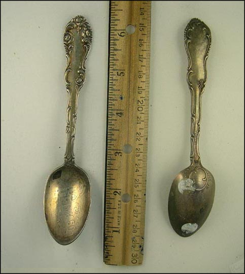 1893, Los Angeles, California Souvenir Spoon