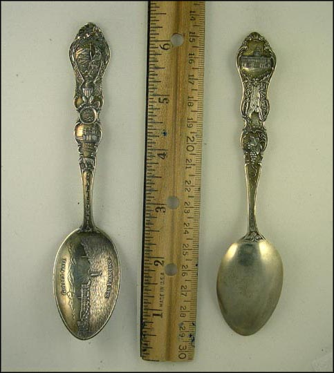 Golden Gate, Santa Barbara Mission Souvenir Spoon
