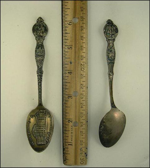 United States Mint, State Capitol Souvenir Spoon MAIN