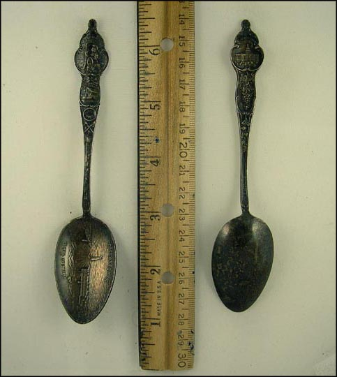 Golden Gate, Mission Dolores Souvenir Spoon