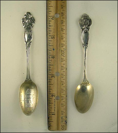 Union High School, Inglewood, California Souvenir Spoon