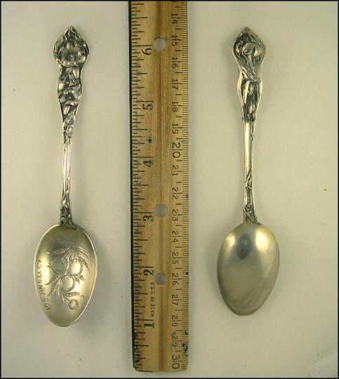 Oranges, Los Angeles, California Souvenir Spoon