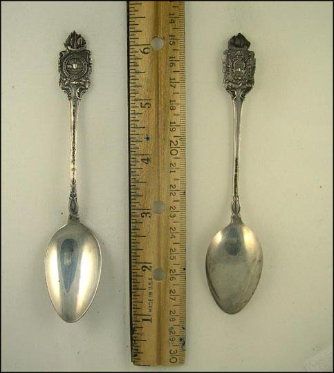Panama Exposition, San Diego, California Souvenir Spoon