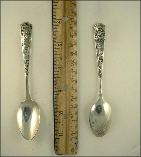 San Diego, California Souvenir Spoon MAIN