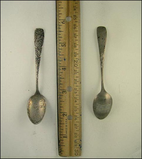 Stockton, California Souvenir Spoon