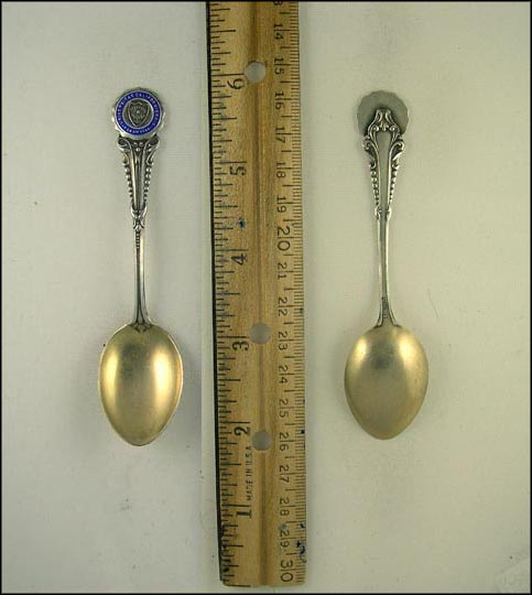 University of California Crest Souvenir Spoon_MAIN