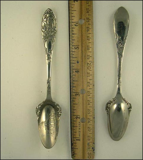 Administration Building Souvenir Spoon MAIN