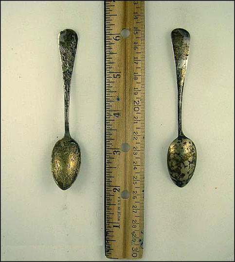 Mt. Rainier, Seattle, Washington Souvenir Spoon