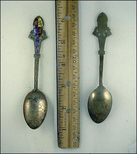 Enameled Crest, Empire, Perry Sound AS IS Souvenir Spoon