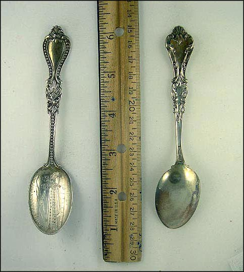 Mission 1786, Santa Barbara, California Souvenir Spoon