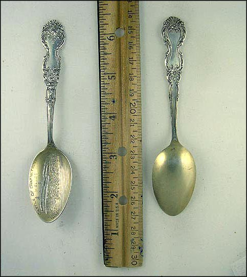 Castle  Souvenir Spoon
