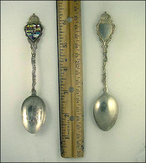 The Armouries, Enameled Crest Souvenir Spoon