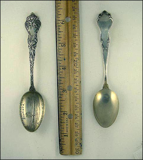 Mission, Founded A.D. 1797 , San Juan Bautista, California Souvenir Spoon