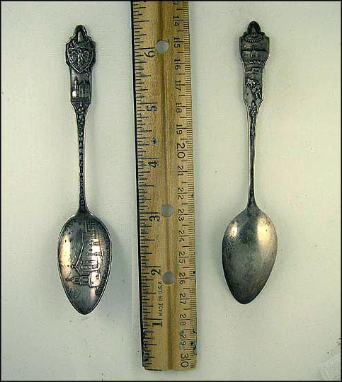 Church of Guadalupe 1549, Bull Ring Souvenir Spoon